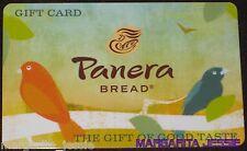 """PANERA BREAD """"BIRDS"""" COLLECTIBLE GIFT CARD NO VALUE NEW 2012"""