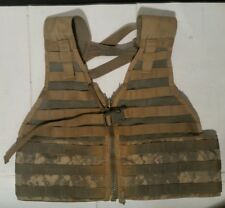 USGI ACU MOLLE II FIGHTING LOAD CARRIER FLC TACTICAL VEST Good DIGITAL CAMO