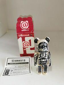 Bearbrick Medicom Toy Series 13 SF H. R GIGER (BOX 4X7X4CM)