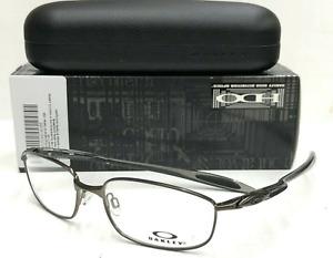 New OAKLEY Eyeglasses BLENDER 6B OX3162-0155 55-17 133 Pewter & Grey Frames