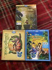 The Jungle Book/The Jungle Book 2/The Jungle Book Blu-ray With Slipcovers