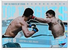 Tyson Griffin Rafael Dos Anjos 2010 Topps UFC Main Event Top 10 Fights 2009 # 25