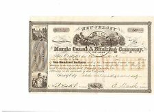 Morris Canal & Banking Company   1860