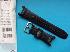 Casio Uhrband schwarz PRG-240, PRG-40 Band Replacement Strap Ersatzband