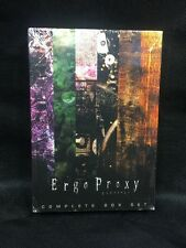 Ergo Proxy - Original Funimation DVD Box Set Release From 2008 New Sealed OOP
