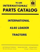 International Harvester 4140 Loader Tractor Chassis Parts Catalog Manual IH