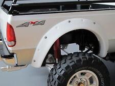 Heavy Duty White Rubber Fender Set Tamiya RC 1/10 Ford F350 F-350 High Lift
