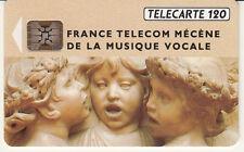 France télécarte 120 France telecom mécène de la musique vocale