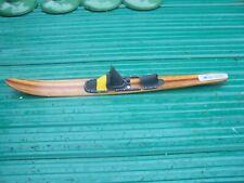 "Vintage 66"" Cut N Jump Slolam Laminated Wood Water Ski"