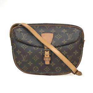 100% Authentic Louis Vuitton Monogram Jeune Fille GM M51225 [Used] {08-0340}