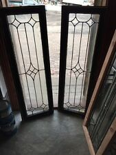 Sg 529 Two Available Price Separate Antique Beveled Point Transom Windows