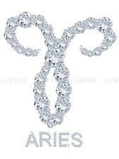 DIAMOND ZODIAC ARIES BLING VAJAZZLE HOROSCOPE PHOTO ART PRINT POSTER BMP339A