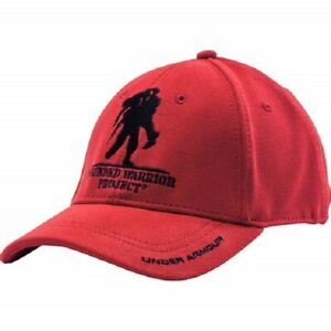 New Under Armour Wounded Warrior Project WWP Adjustable Red Men's Cap Hat OSFA