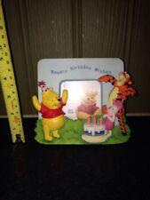 DISNEY WINNIE THE POOH Happy Birthday Rimbalzante Compleanno Regalo cornice foto Wishes