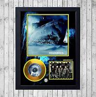 RAMMSTEIN ROSENROT CUADRO CON GOLD O PLATINUM CD EDICION LIMITADA. FRAMED