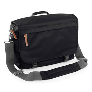 Bagbase Campus Laptop Messenger Bag Internal Organiser Work Office Case (BG261)