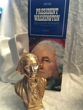 Avon President Washington Wild Country after shave 6 fl. Oz. 1979 gold decanter