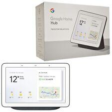 "BNIB Google Home Hub GA00515-GB Charcoal Black 7"" Touch SmartHome Automation"