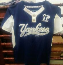 Yankees #12 Jersey By Majestic Cool Base, size Youth Small