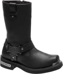 Harley-Davidson Men's Charlesfort Black or Brown Motorcycle Boots D96149 D96150