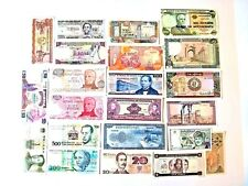 New listing Bank note 1961 - 1972 - 2004 world mixed paper money lot of 22