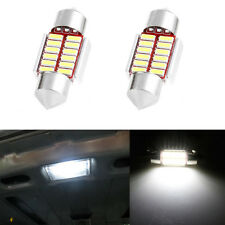 2X 31mm 4014 12SMD C5W LED Canbus Festoon Dome Lamp Car License Plate Light