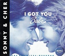 Sonny & Cher I got you babe (1992, 'Nivea') [Maxi-CD]