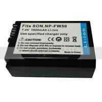 1500mAh NP-FW50 Battery For Sony Alpha 7 7R a7R a7S a3000 a5000 a6000 NEX-5N A55