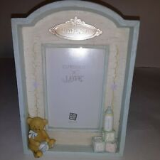 """New Listing3 1/2""""x5"""" Russ Little ones Baby Picture Frame Hand Painted"""
