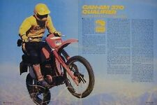 CAN-AM 370 QUALIFIER Motorcycle Test Article 1979
