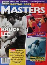 1/96 MARTIAL ARTS MASTERS BRUCE LEE WILLIAM CHOW BLACK BELT KARATE KUNG FU