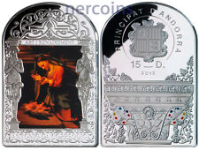 Andorra 2013 Renaissance Madonna by Correggio 15D Pure Silver 50g Coin