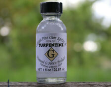 Diamond G Forest 100% Pure Gum Spirits of Turpentine (Organic) 1oz Bottle
