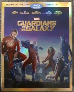 Guardians Of The Galaxy Blu-ray 3D + Blu-ray (2 Disc Set) + Slipcover