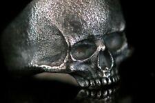 Klassischer Totenkopf Ring Skull Keith Richards Half Skull in Silber 925