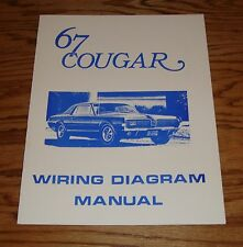 1967 Mercury Cougar Wiring Diagram Manual 67