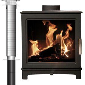 Fully installed Log Burner Loughrigg 2022 ECO Flue Liner Wood Burner Read Descp
