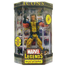 MARVEL LEGENDS ICONS WOLVERINE no mask PVC figure 30cm Toy Biz