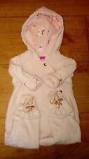Ted Baker Debenhams Pale Pink Bunny Snuggle Soft Touch Snowsuit  0-3 Months