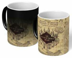 Harry Potter - Marauders Map Heat Ceramic Mug