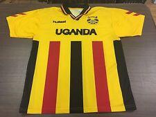 Vintage Uganda Hummel Men's Soccer Jersey - Large