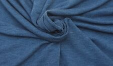 Stretchy French Terry Knit Fabric by Yard Washed Denim 8/12/16