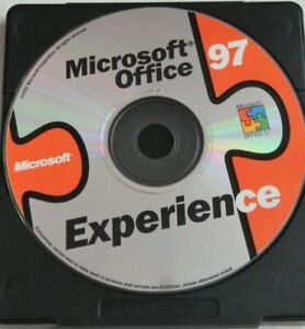 Vintage Microsoft Office experience 97 Windows XP Dell PC Computer Installation