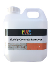 Biostrip Concrete Remover 1 Litre- Cement, Mortar, Efflorescence cleaner.