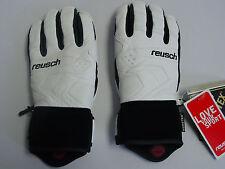 New Reusch Goretex Leather Ski Gloves Size Adult Medium 8.5 DreamTeam #4101306