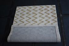 Hand-Woven Wool Kilim Area Rug Chevron Designer Carpet