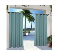 """Exclusive Home Indoor/Outdoor Cabana Grommet Window Curtain Panel Pair 54""""x108"""""""