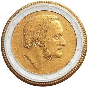 GERMANY PORCELAIN BAYREUTH RICHARD WAGNER GOLD #alb40 217