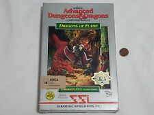 NEW Advanced Dungeons & Dragons : Dragons of Flame Amiga Game Dragonlance AD&D