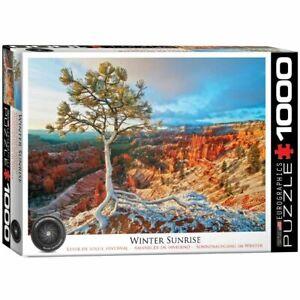 Eurographics 1000 Piece Jigsaw Puzzle - Grand Canyon - Winter Sunrise